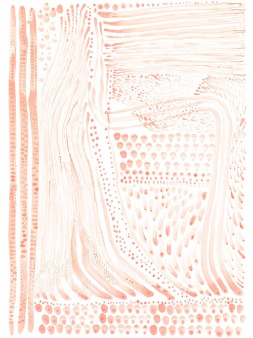 Pink Flow Giclee Print