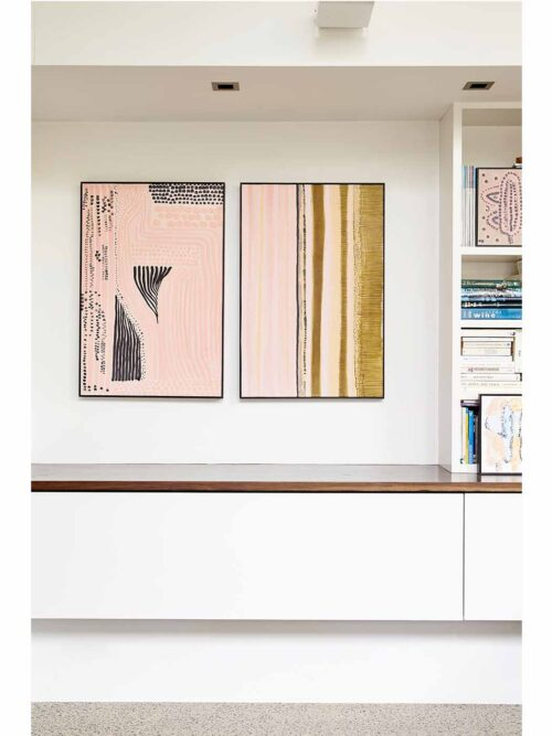Pink Series Giclee Diptych
