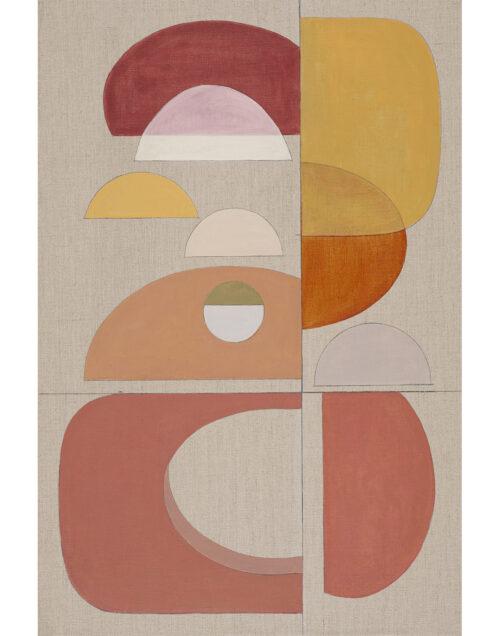 Original abstract artwork Terracotta Arch